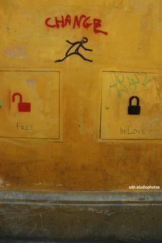 Exit Enter e altri, Via Alfonso La Marmora, Firenze (Toscana, Italy) - by Silvana, giugno 2015