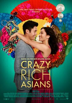 Crazy Rich Asians is an American romantic comedy film which is based on the 2013 novel of Kevin Kwan. American Born Chinese, American Girl, Constance Wu, Michelle Yeoh, The Selection, Cinema, Believe, English Movies, Beach Reading