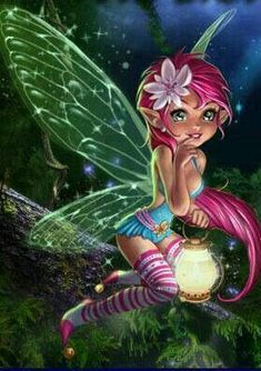 My wings are fluorescent and when I am happy they glow in the dark