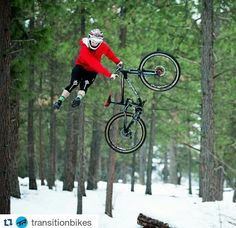 do or do not lol :D.....Transition bikes does Winter riding