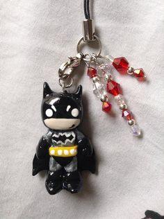 Kawaii Batman Keychain/Necklace