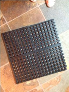 Make your own snuffle mat
