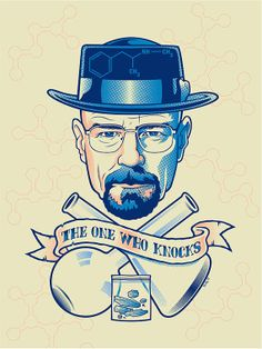 Breaking Bad The One Who Knocks Cross Stitch by SinsAndNeedles89, $5.00