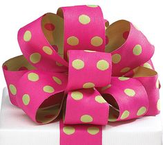 Adorable 11/2W x 5YDS Reversible Ribbon Hot Pink & by PABoutique, $4.99
