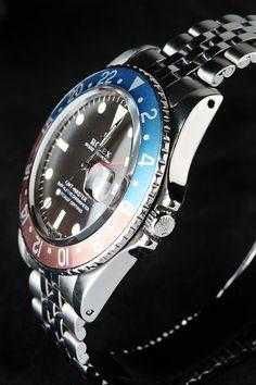 "Rolex GMT-Master 16700 ""Pepsi Bezel"" | GMT - Date | Caliber 3175 - Black Dial w…"