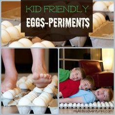 Egg walk:
