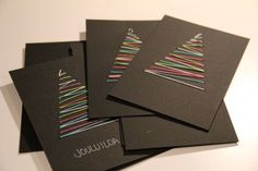 C'est le moment de réaliser vos cartes de Noël, les cartes de voeux ! Je vous propose donc un joli DIY de Noël pour apprendre à fabriquer une belle carte de Noël.: