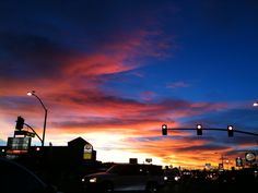 good ol' Apple Valley; no photoshop required that's how the skies really look . beautiful.