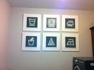 laundry room art