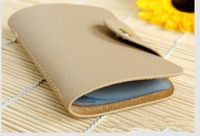 2014 Hot Sale Genuine Cow Leather Credit Card Holder Casual Unisex Clutch Bag