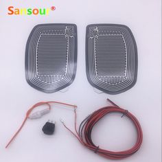 Sansour Car Mirror Glass Heated Pad Mat Defoggers Remove Frost Fit Most DC 12V Vehicle Side Mirror Glass Heat Heated Pad x 2pcs  Price: 11.01 USD