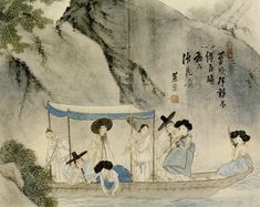 Korean Traditional art by Shin Yun-bok Korean Traditional, Traditional Art, Korean Painting, China Art, Traditional Paintings, Korean Artist, Conceptual Art, Art Google, Japanese Art