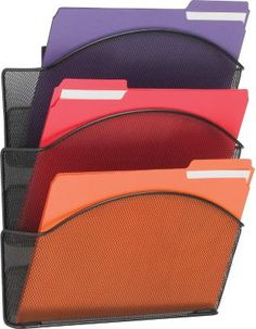 Staples®. has the SAFCO Onyx Mesh Wall Files Letter Size- Triple Pocket you need for home office or business. FREE delivery on all orders over $19.99, plus Rewards Members get 5 percent back on everything!