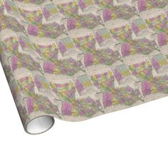 Vintage Map of Louisiana (1853) Wrapping Paper $16.95