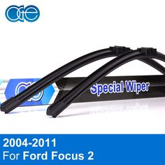 Discount! US $11.33  Oge Wiper Blades For Ford Focus 2 2004 2005 2006 2007 2008 2009 2010 2011 Windscreen Windshield Rubber Car Accessories