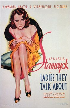 """""""Ladies they Talk About"""" 1933"""