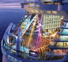 Aqua Theater. Royal Caribbean, Oasis of the Seas