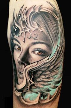 Realism Face Tattoo by Rember Orellana - http://worldtattoosgallery.com/realism-face-tattoo-by-rember-orellana-7/