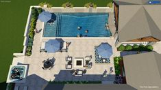 Backyard Pool Landscaping, Backyard Pool Designs, Swimming Pools Backyard, Swimming Pool Designs, Lap Pools, Indoor Pools, Small Pool Houses, Small Pools, Swimming Pool Architecture