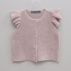 Eclair Berry Knit Vest