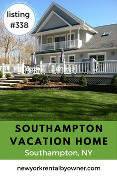 Enjoy the Hamptons on your next beach trip by staying in the Hamptons. Find affordable Southampton beach homes for your next vacation. New York Vacation, New York Travel, Vacation Rentals, Beach Fun, Beach Trip, Fire Island New York, Southampton Beach, Beautiful Beach Houses, New York Summer