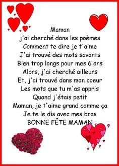 More Inspiration for Control Freak Parents Mother Poems, Mothers Day Poems, Mother And Father, Mather Day, Mother's Day Activities, Core French, French Classroom, Fathers Day Crafts, French Lessons