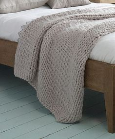 Lombok | Chunky wool throw