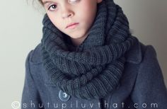Chunky Wool Knit Scarves 48% off at Groopdealz