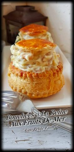 Vol Au Vent, Zucchini Chips, Quinoa, Cuisine Diverse, Food Festival, Finger Foods, Entrees, Seafood, Bakery