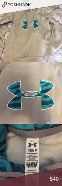 Women's UA hoodie This women's underarmour hoodie is so warm and comfy! i loved these at a younger age but anyways this hoodie is in excellent condition as always:). offers available. Under Armour Tops Sweatshirts & Hoodies