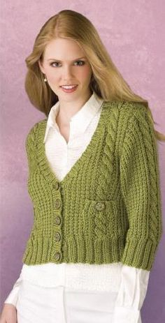 Free Knitting, Knitting Patterns, Crochet Patterns, Knit Cardigan, Knit Crochet, Larger, Number, Medium, Casual
