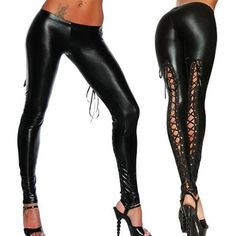74def46ab When you're getting ready for a sultry night out, these edgy faux leather  leggings is your new go-to! These leggings have a sheen to them that makes  them ...
