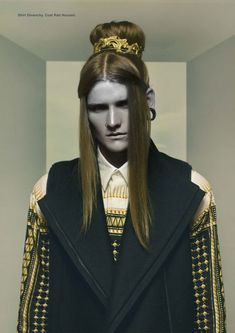 Daniel L shot by Andy Long Hoang and styled by Tinashe Musara for the Fall 2012 issue of DEW magazine.