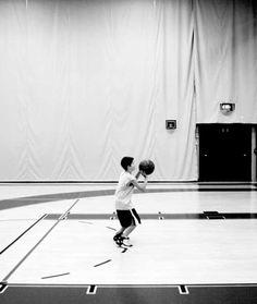 Teaching Shooting the ball