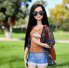 barbie, Fleurs, and soleil image Barbie Hair, Doll Clothes Barbie, Barbie Doll House, Barbie Life, Barbie Dress, Barbie Shop, Barbie Barbie, Barbie Style, B Fashion