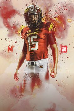 Maryland Football Posters on Behance