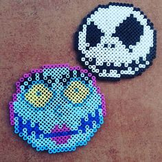 Nightmare Before Christmas perler beads by smile.cherry325