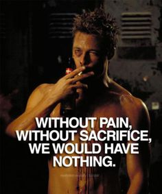 Motivation for Fitness Fight Club Brad Pitt, Fight Club 1999, Fight Club Quotes, Punchline Rap, Los Primates, Marla Singer, Fighting Quotes, Bien Dit, Tyler Durden