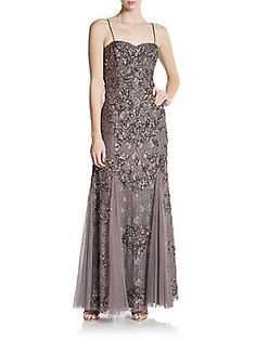 Embellished Lace Gown - Monya or Sabrina? 0/2