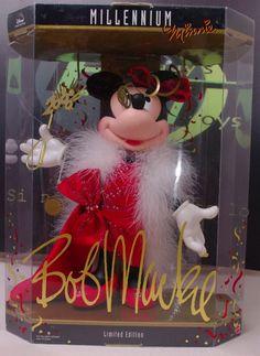 Disney Minnie Mouse Millenium Bob Mackie Doll 2000