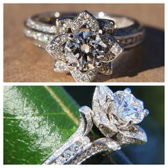 I would want a ring like this...this one sticks out a bit too high but one like this would be amazing!!!
