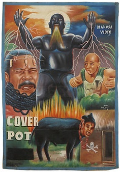 :) African movie art