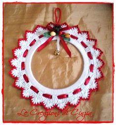 Best 12 Jayne Karlstad's 240 media details – SkillOfKing. Crochet Christmas Wreath, Crochet Ornaments, Christmas Crochet Patterns, Holiday Crochet, Crochet Snowflakes, Crochet Gifts, Christmas Wreaths, Crochet Decoration, How To Make Ornaments
