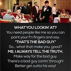 12 Best Say Goodnight To The Bad Guy Images Scarface Quotes Al