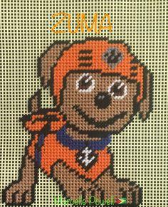 Cross Stitch Paw Patrol(ZUMA) by Marcelle Powell ❤️