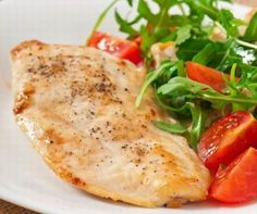 Grilled Chicken Paillard with Lemon and Black Pepper and Arugula-Tomato Salad Recipe via 249 cal. Chicken Flavors, Chicken Recipes, Chicken Paillard, Dutch Oven Chicken, Tomato Salad Recipes, Recipe Details, Coffee Recipes, Grilled Chicken, Casserole Dishes