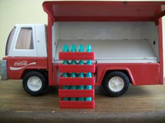 Buddy L Vintage Coca Cola Delivery Truck Japan by TheFickleFlea