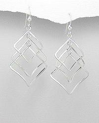 Sterling Silver Mini Twist Earrings