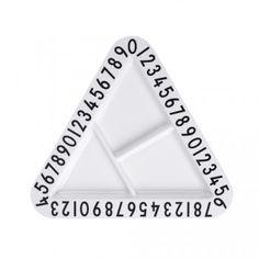 Design Letters AJ Melamine Triangular Snackplate £11.00