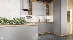 Kuchnia - zdjęcie od SYMETRIA | pracownia architektury - Kuchnia - SYMETRIA | pracownia architektury